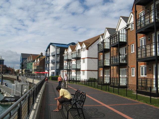 Littlehampton Quayside flats