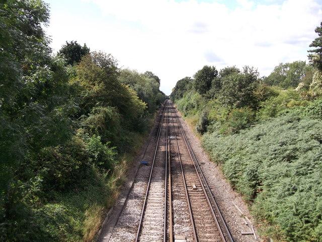 Railway to Mottingham