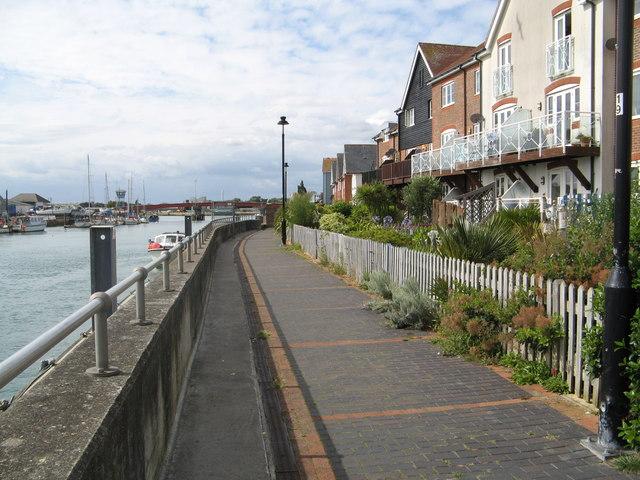 Quayside walk
