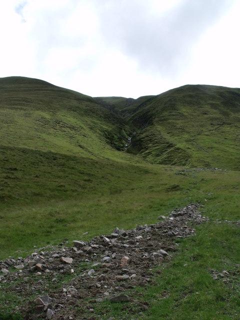 Alluvial fan, Gaick Pass