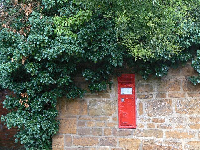 Cottesbrooke postbox ref: NN6 96