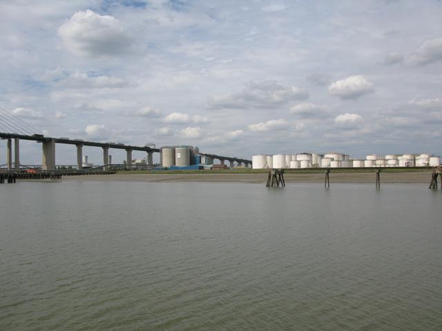 The Vopak petroleum and liquid gas storage area