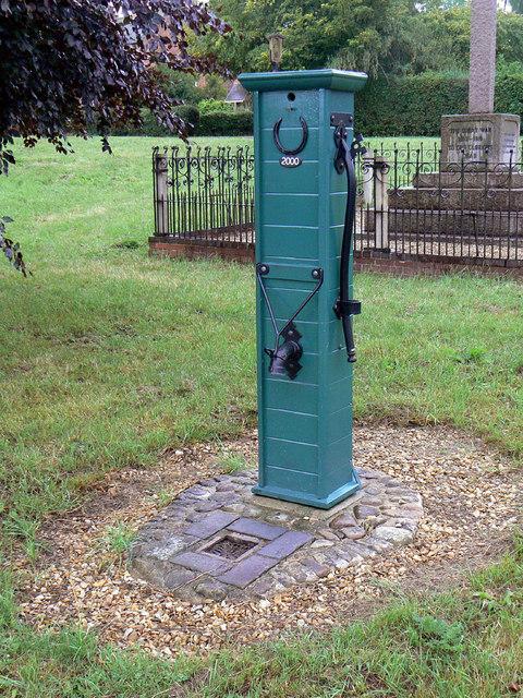 Village pump, Great Dalby