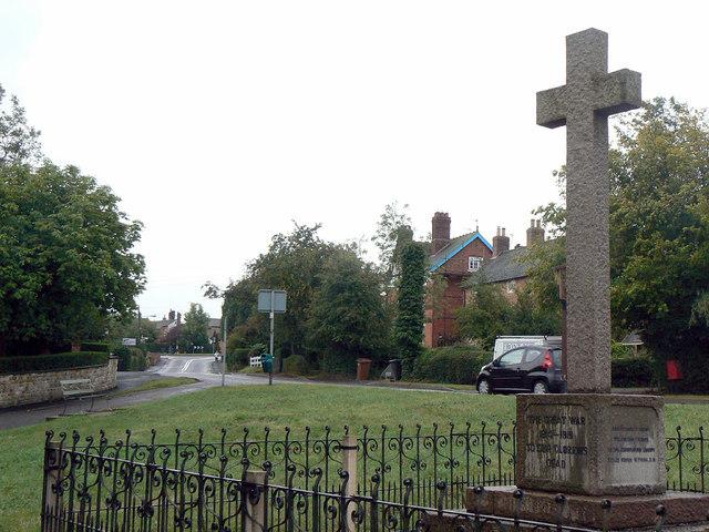 War Memorial at Great Dalby
