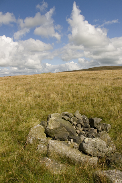Pile of Stones (Old Ned) on Easington Fell