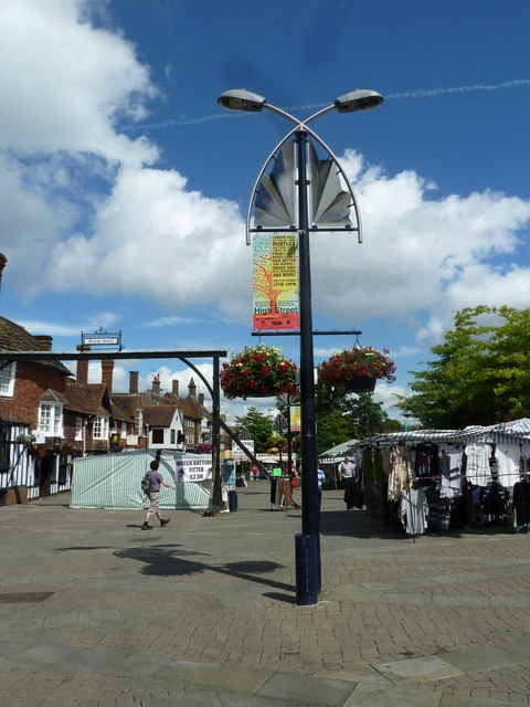 August 2011 in Crawley's historic High Street (h)