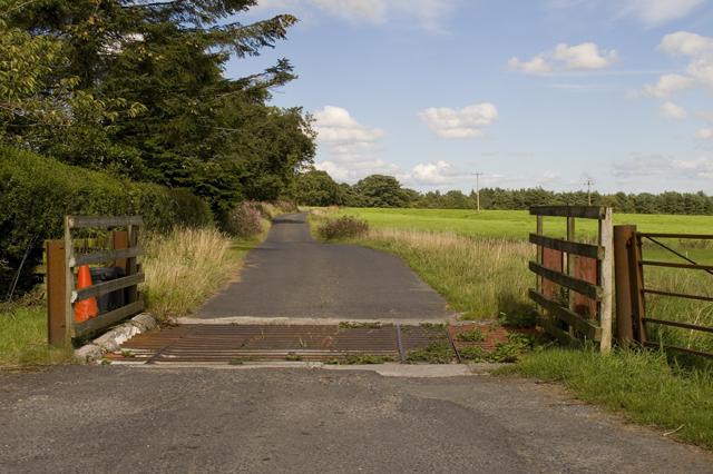 Entrance to Feazer farm