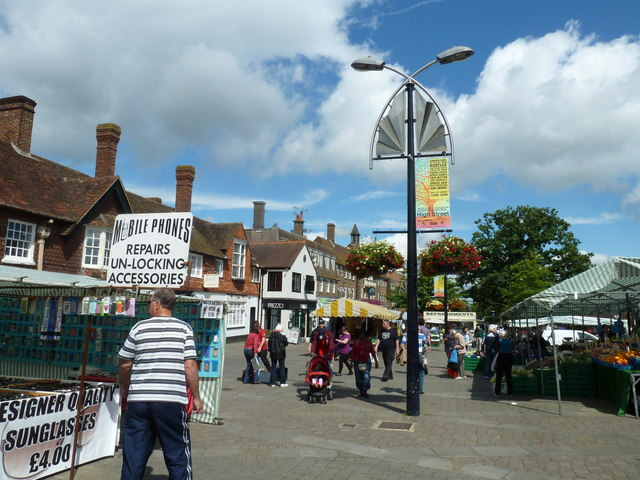 August 2011 in Crawley's historic High Street (i)