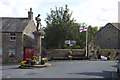 SD7152 : War Memorial and road junction Slaidburn by Tom Richardson