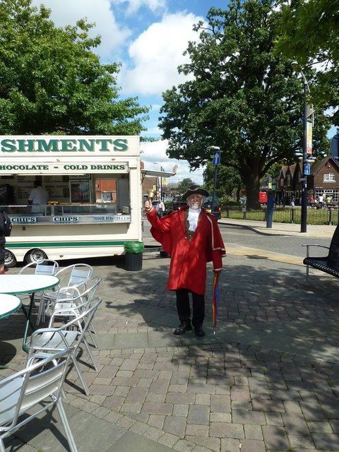 August 2011 in Crawley's historic High Street (k)