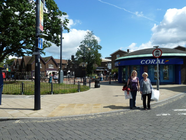August 2011 in Crawley's historic High Street (n)