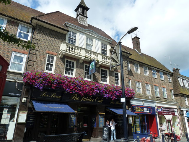 August 2011 in Crawley's historic High Street (o)