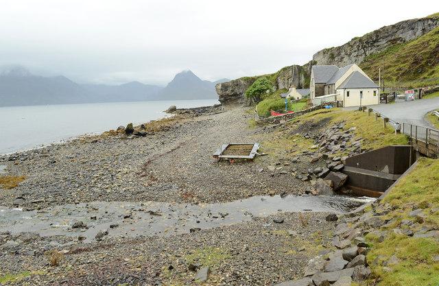 Shore at Elgol