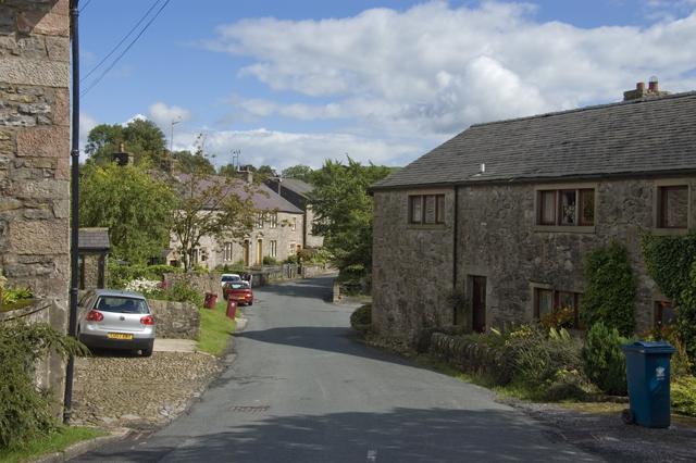 The road into Newton