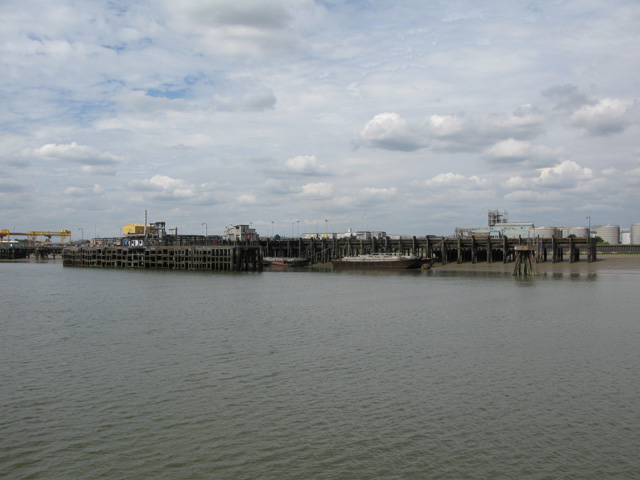 Jetties at Purfleet