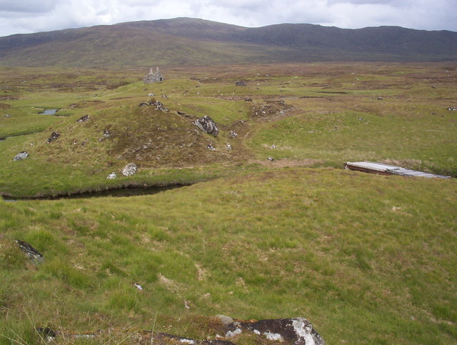 Lubnaclach (Ruin) from railway line
