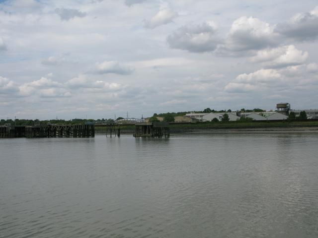Shoreline at Purfleet