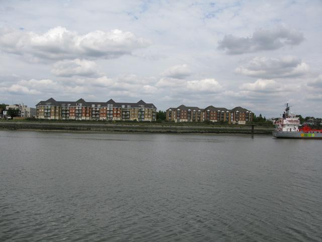 Harrisons Wharf at Purfleet