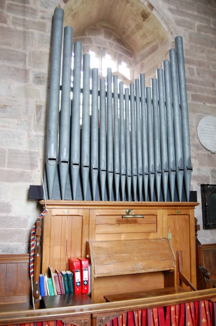 Organ in Much Marcle