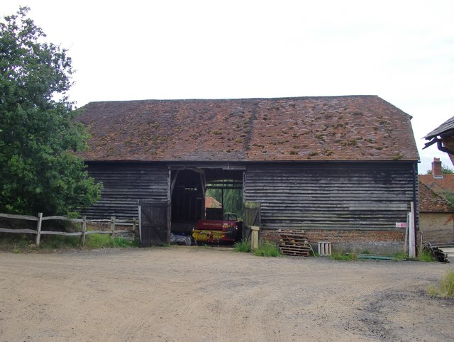 The barn at Pierrepont Farm