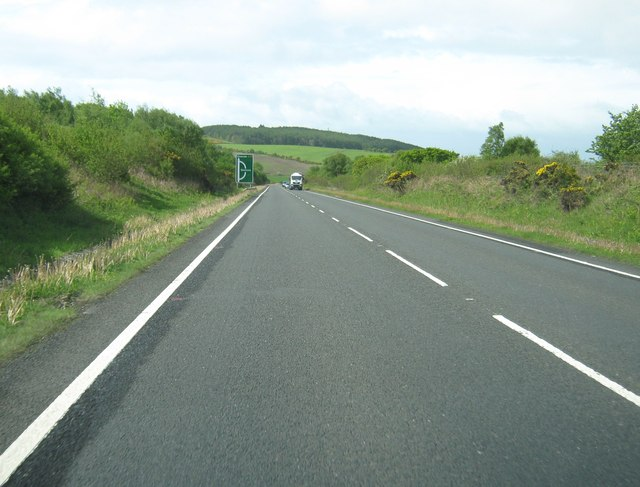 The A75 at the Banks of Dervaird