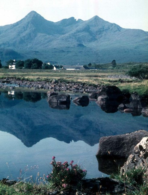 River Sligachan and the Cuillins