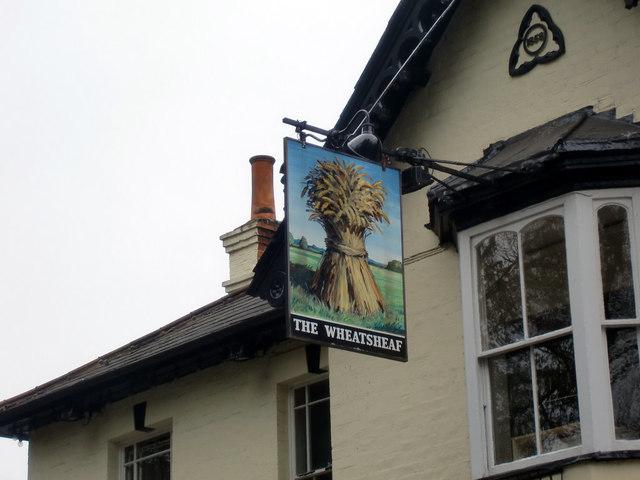 The Wheatsheaf Public House Inn Sign