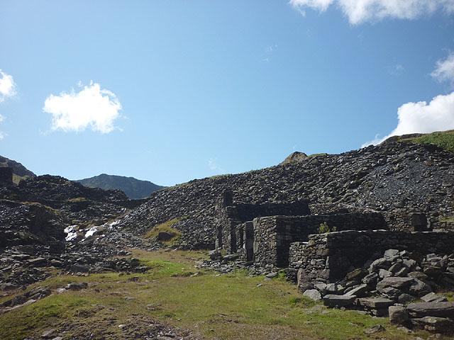Old buildings, Greenburn Mine