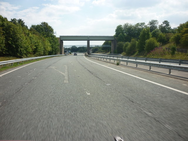 Looking south along the A162