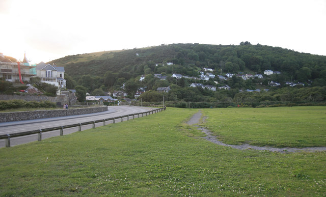 Seaton valley from the car park
