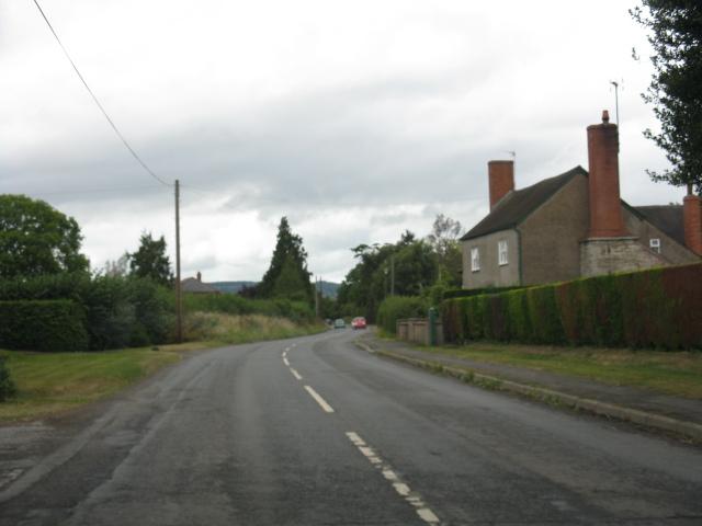 B4360 near Holgate Farm