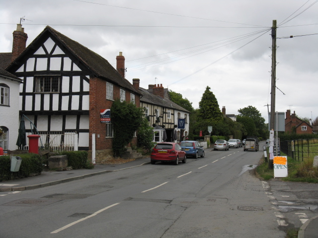 Village scene, Kingsland