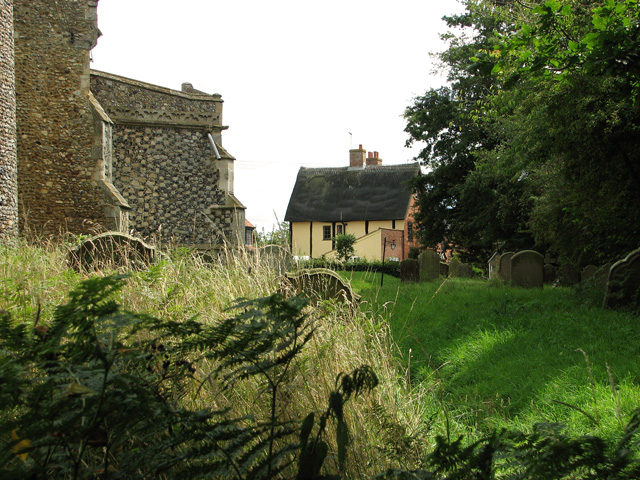 Cottage in Church Road, Theberton
