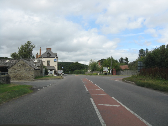 Mortimer's Cross from the northbound A4110