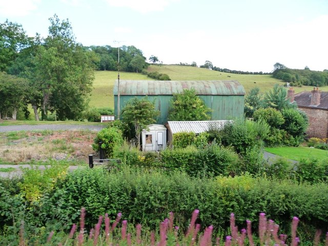 Big green shed, Brooksmouth Farm