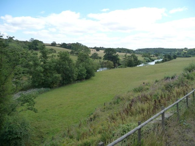 The Severn below the confluence with Borle Brook