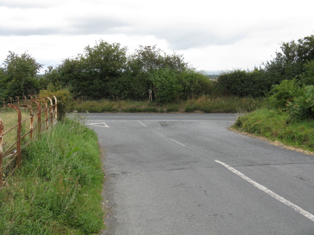 Lane from Easthampton meets the B4362
