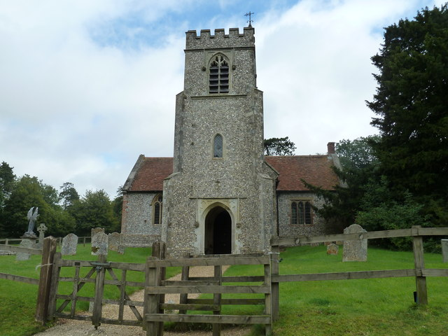 St Andrew, Farleigh Wallop: August 2011 (a)