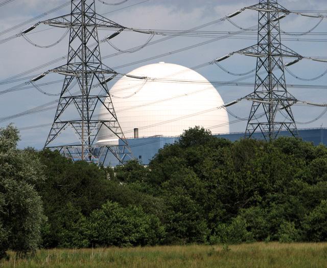 Sizewell B power station