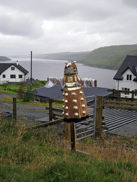 Tattie Dalek in Carbost