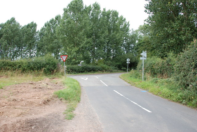 Road Junction with the B5026