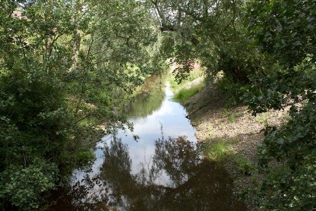 The River Clun near Newcastle