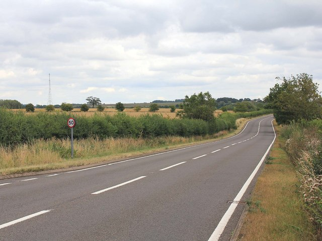 A423 south of Ladbroke