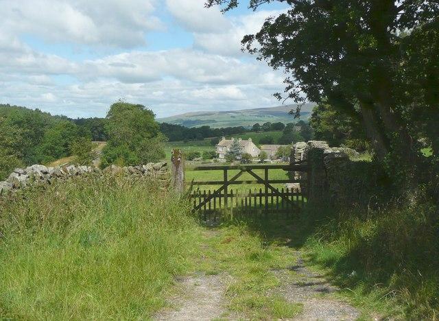 Gateway near Armitstead, Giggleswick