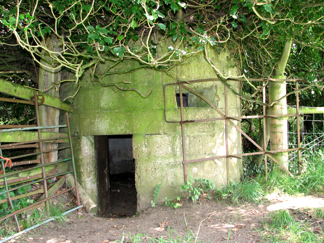 WWI pillbox on Spa Common, North Walsham