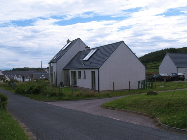 New houses, Ardminish