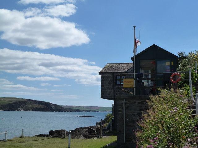 RNLI lifeguard station, Burgh Island