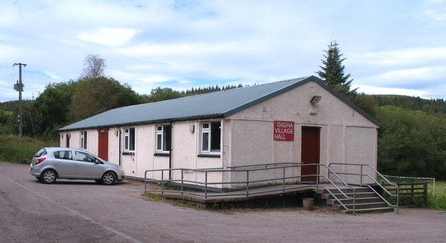 Gigha village hall