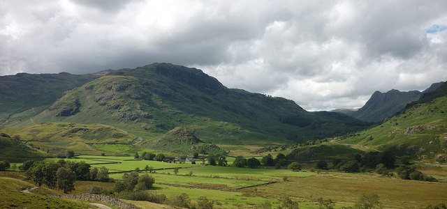 The head of Little Langdale