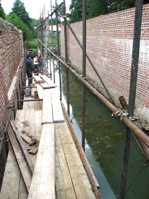 North Walsham & Dilham Canal - restoring Bacton Woods lock